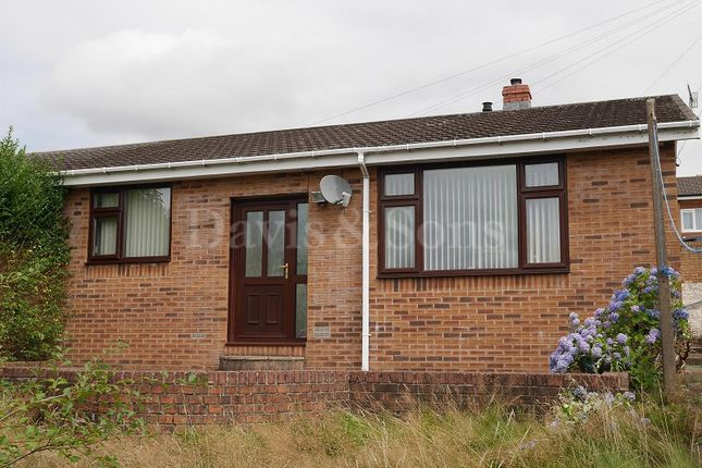 Thumbnail Semi-detached bungalow for sale in Carlyon Road, Newbridge, Newport.