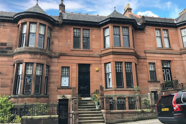 Thumbnail Flat to rent in 63A Dowanside Road, Glasgow, Lanarkshire