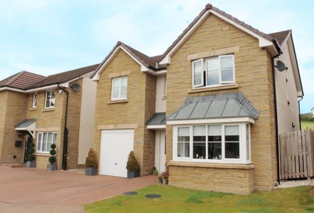 Thumbnail Detached house for sale in Cherrytree Gardens, Bishopton, Renfrewshire