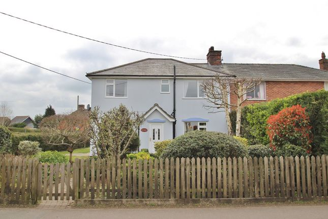 Thumbnail Semi-detached house for sale in Woolpit, Bury St Edmunds, Suffolk