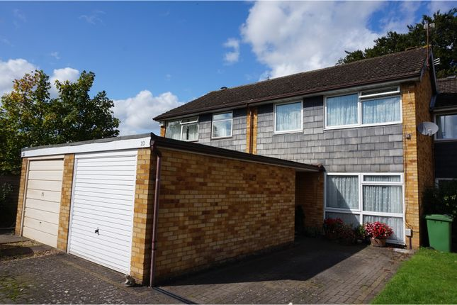 Thumbnail Semi-detached house for sale in The Spinney, Leamington Spa