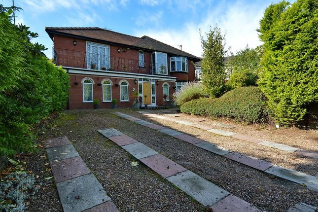 Thumbnail Detached house to rent in Higher Lane, Whitefield, Manchester