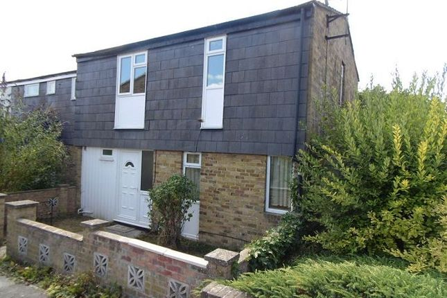Thumbnail End terrace house to rent in Mendip Close, Basingstoke