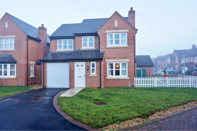 Thumbnail Detached house to rent in The Meadows, Ellesmere