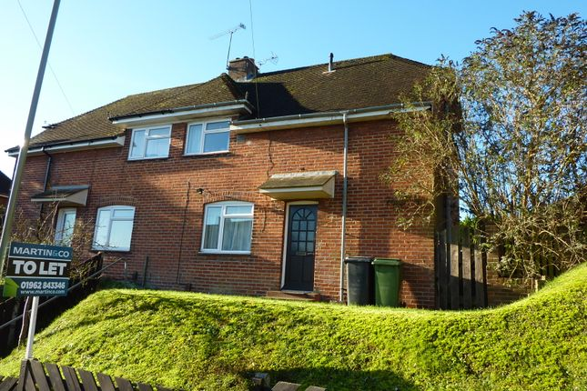 Thumbnail Semi-detached house to rent in Portal Road, Winchester