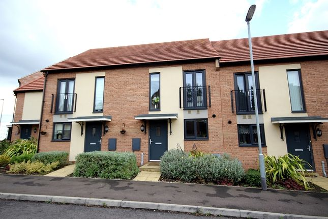 Thumbnail Terraced house for sale in Mars Drive, Wellingborough, Northamptonshire.