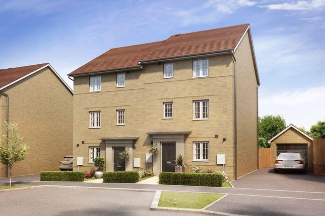 "Thumbnail Semi-detached house for sale in ""Hythie"" at Marsh Lane, Harlow"