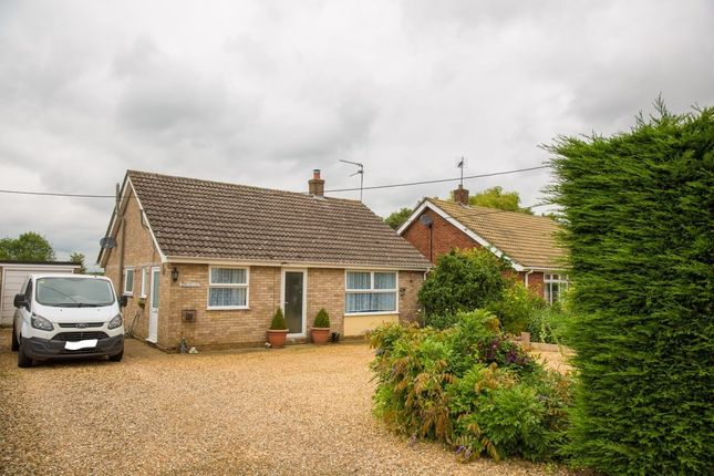 Thumbnail Detached bungalow for sale in Hill Road, Fair Green, Middleton, King's Lynn