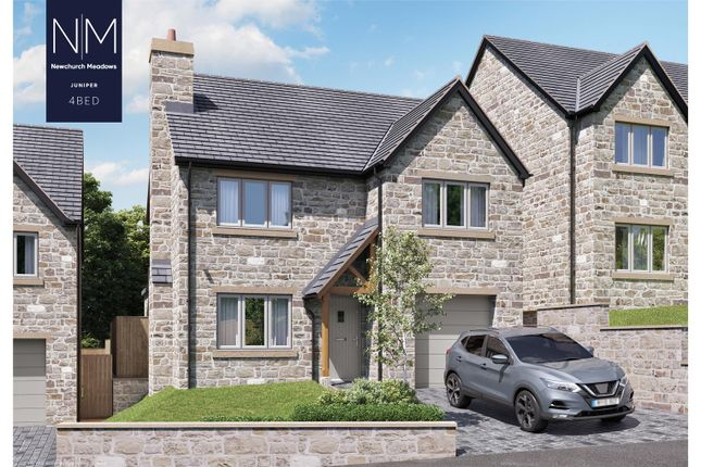 Thumbnail Detached house for sale in Plot 2, Newchurch Meadows, Higher Cloughfold, Rossendale