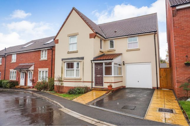 Thumbnail Detached house for sale in Fowen Close, Street