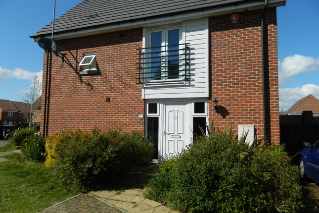 Thumbnail End terrace house to rent in Englefield Way, Basingstoke