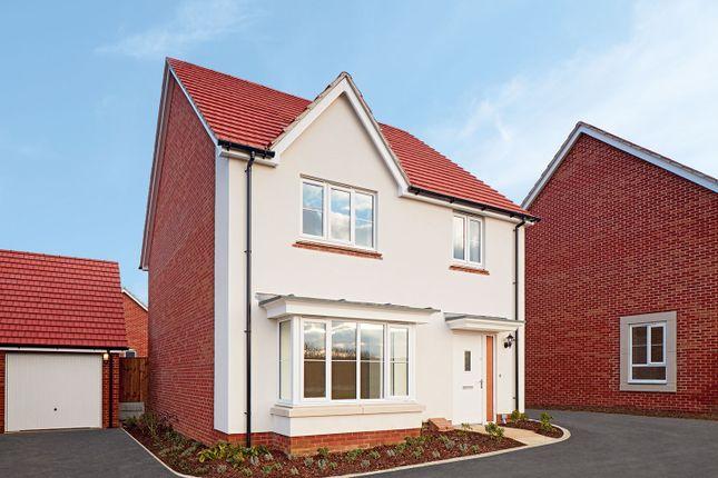 "Thumbnail Detached house for sale in ""The Downham"" at Radwinter Road, Saffron Walden, Essex, Saffron Walden"