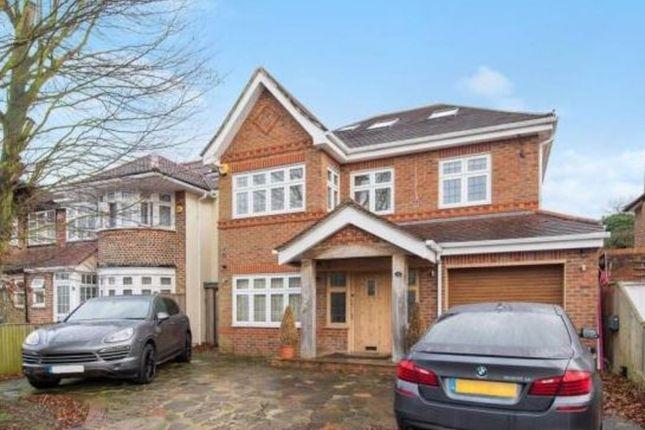 Thumbnail Detached house to rent in Rushdene Road, Pinner