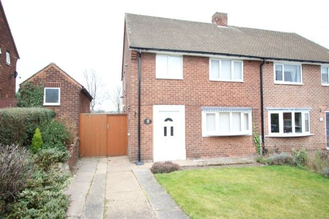 Thumbnail Semi-detached house for sale in Byron Way, Worksop