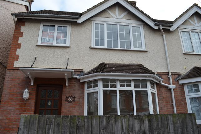 Thumbnail Semi-detached house to rent in Western Avenue, Ashford