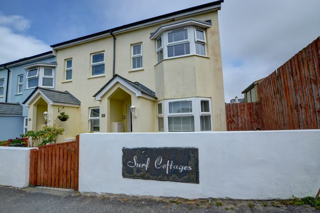Thumbnail End terrace house to rent in Golf Links Road, Westward Ho!