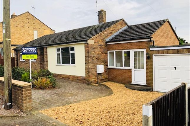 Thumbnail Bungalow to rent in New Cross Road, Stamford