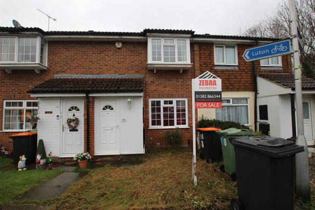 Thumbnail Terraced house for sale in Cemetery Road, Houghton Regis, Dunstable