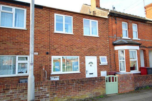 Thumbnail 2 bed town house for sale in Cardiff Road, Reading