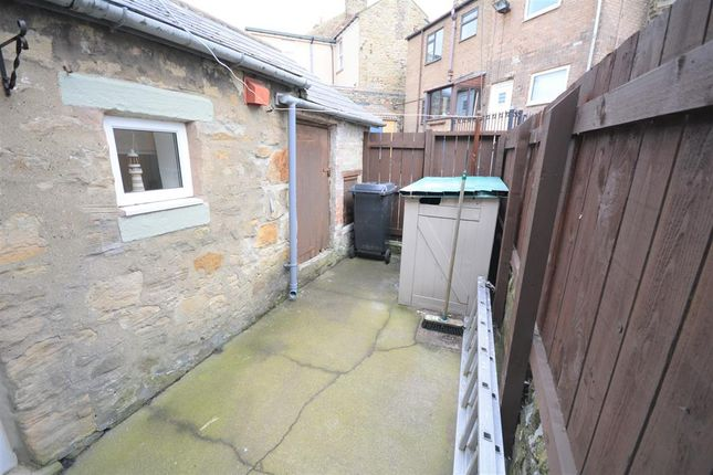 Rear Yard of Grove Road, Tow Law, Bishop Auckland DL13