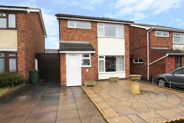 Thumbnail 3 bed detached house for sale in Beech Drive, Syston, Leicester