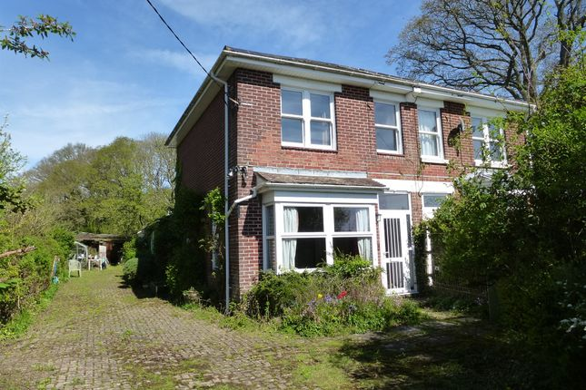 Thumbnail Semi-detached house for sale in Nobs Crook, Colden Common, Winchester