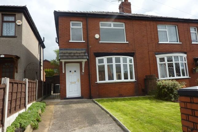 Thumbnail Semi-detached house for sale in Leigh Road, Westhoughton, Bolton