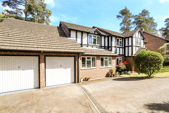Thumbnail Detached house for sale in West View Road, Headley Down, Hampshire