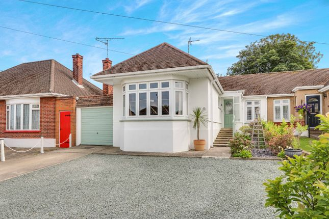 Thumbnail Semi-detached bungalow for sale in Thorndon Park Drive, Leigh-On-Sea