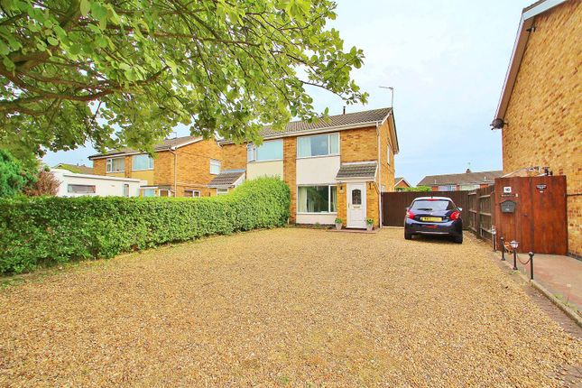Thumbnail Semi-detached house for sale in Wayfarer Drive, East Goscote, Leicestershire