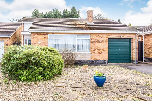 Thumbnail Detached house for sale in Hereward Drive, Thurnby, Leicester