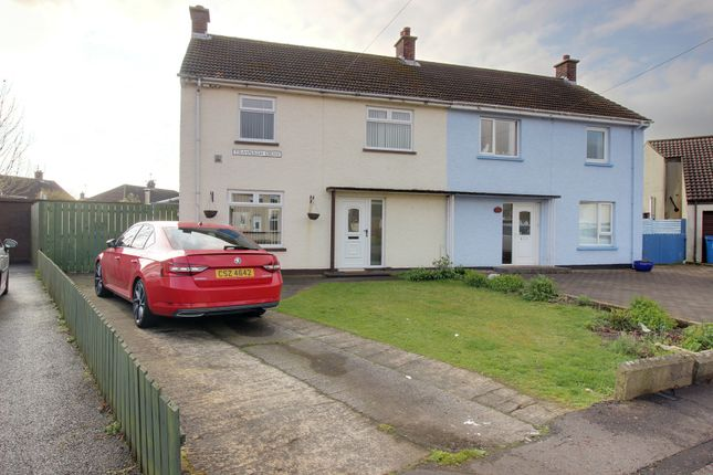 Thumbnail Semi-detached house for sale in Trasnagh Drive, Newtownards