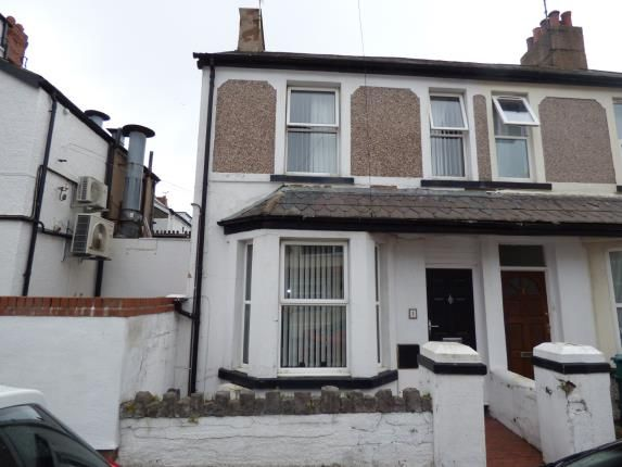Thumbnail End terrace house for sale in Mckinley Road, Llandudno Junction, Conwy, North Wales
