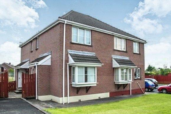 Thumbnail End terrace house to rent in Killowen Grange, Lisburn