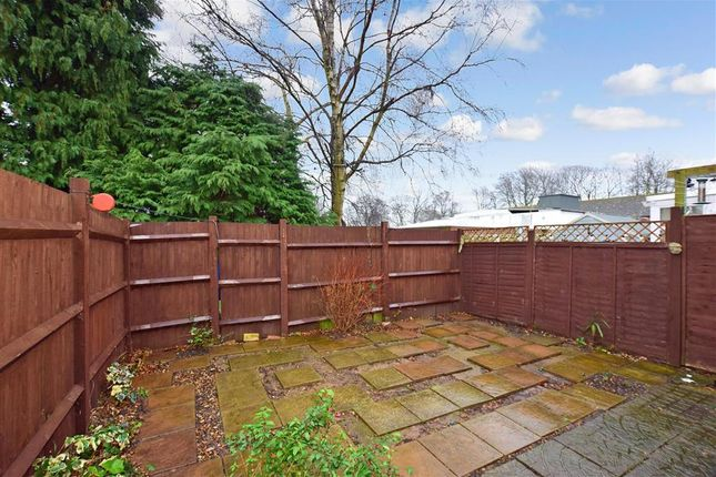 Rear Garden of Japonica Close, Lords Wood, Chatham, Kent ME5