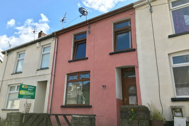 Thumbnail Terraced house to rent in Woodfield Terrace, Penrhiwceiber, Mountain Ash