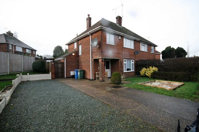 Thumbnail Semi-detached house to rent in Davey Road, Mansfield, Nottinghamshire.