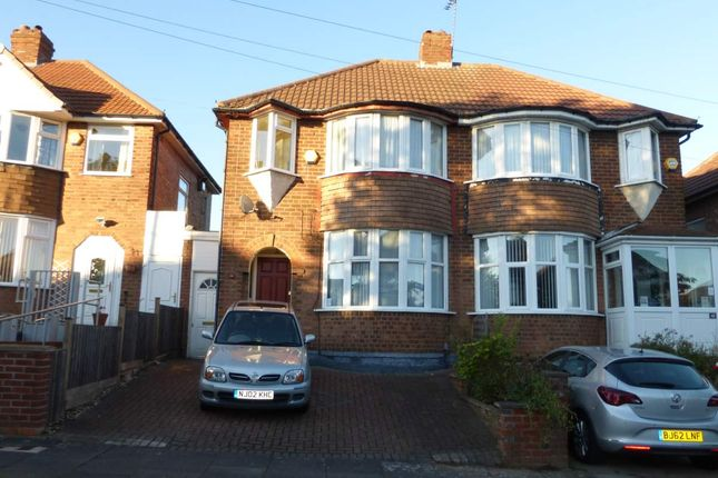 Thumbnail Semi-detached house to rent in Glenpark Road, Wardend, Birmingham
