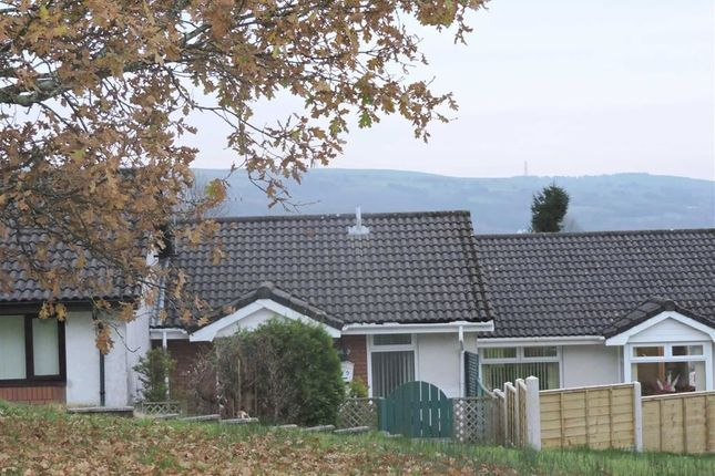 Thumbnail Terraced bungalow for sale in Edison Crescent, Clydach, Swansea