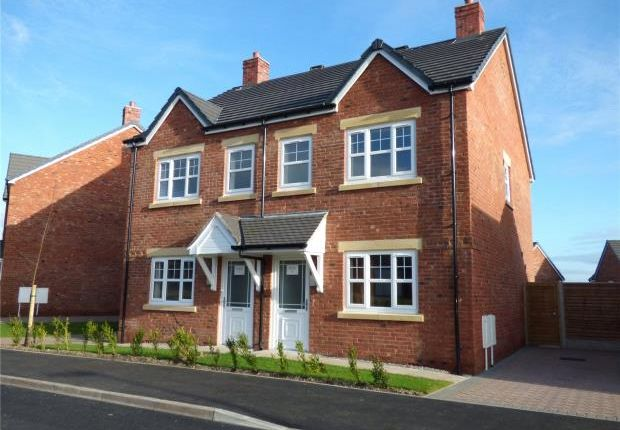 Thumbnail Semi-detached house for sale in Plot 7 Thirlmere, Harvest Park, Silloth, Wigton