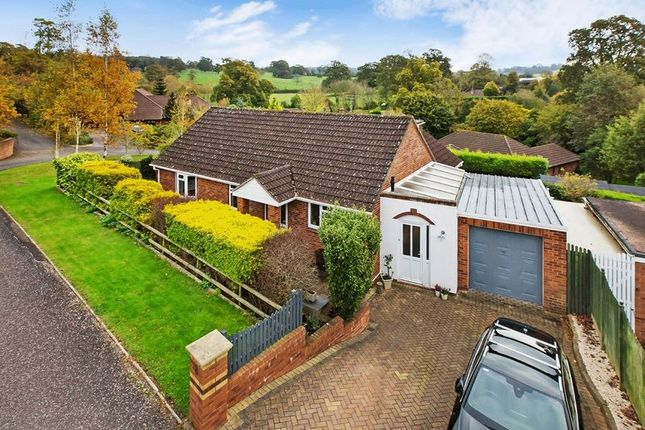 Thumbnail Detached bungalow for sale in Grange Close, Lympstone, Exmouth