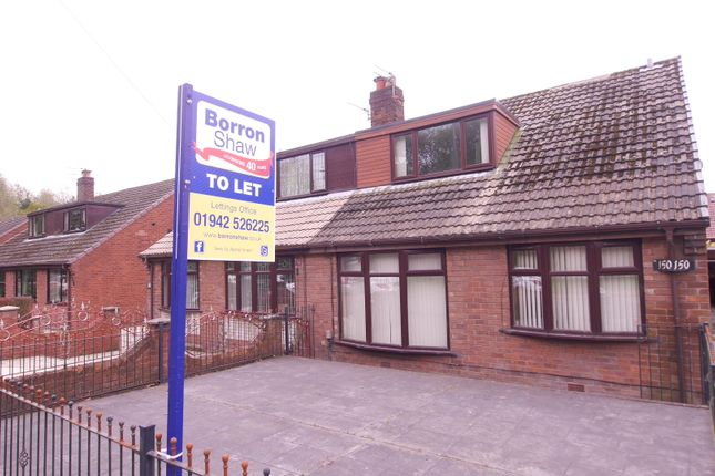 Thumbnail Semi-detached house to rent in Bickershaw Lane, Abram, Wigan