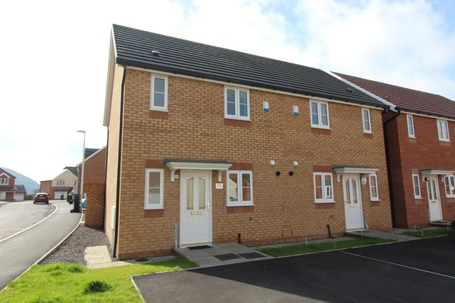 Thumbnail Semi-detached house for sale in Larch Lane, Tredegar