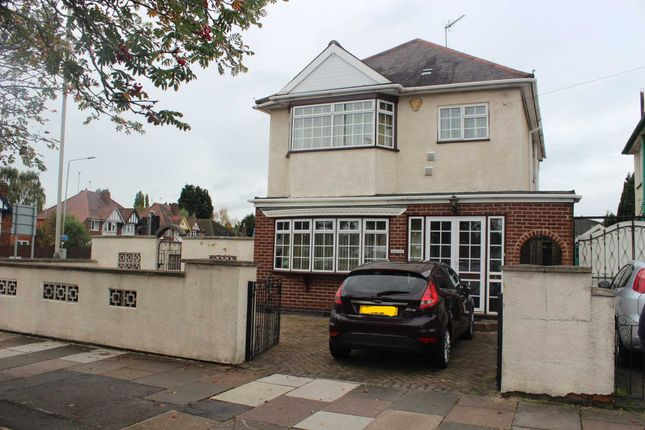 Thumbnail Detached house for sale in Gimson Road, Western Park, Leicester