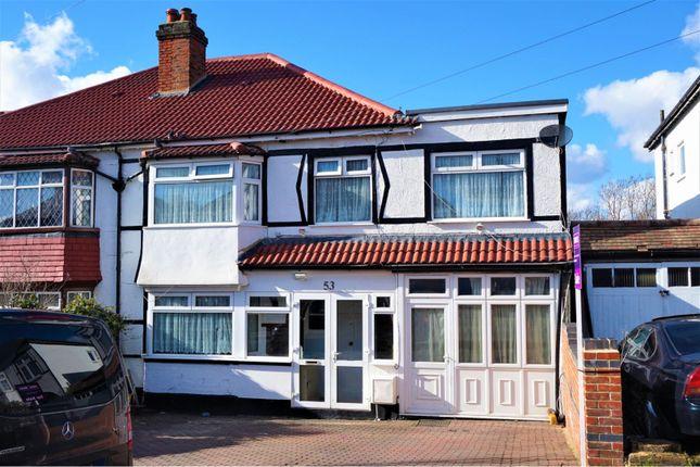 Thumbnail Semi-detached house for sale in Florida Road, Thornton Heath
