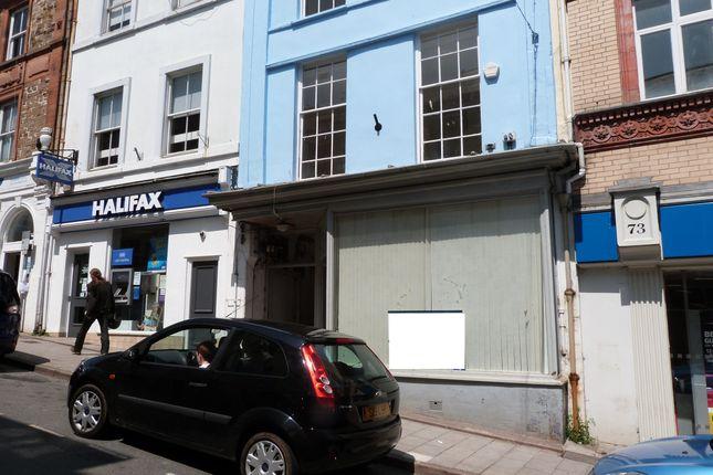 Thumbnail Retail premises to let in High Street, Bideford