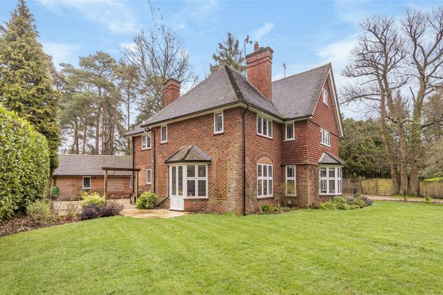 Thumbnail Detached house for sale in Hillsborough Park, Camberley, Surrey