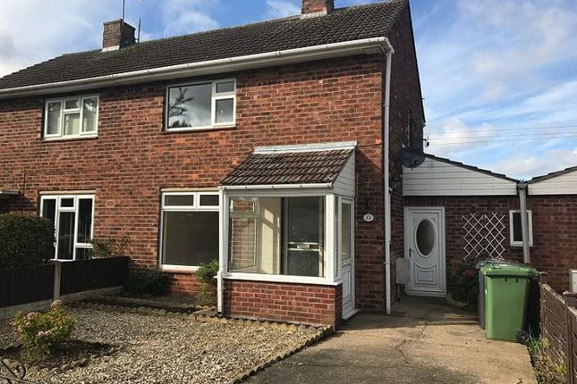 2 bed semi-detached house to rent in Laughton Way, Lincoln