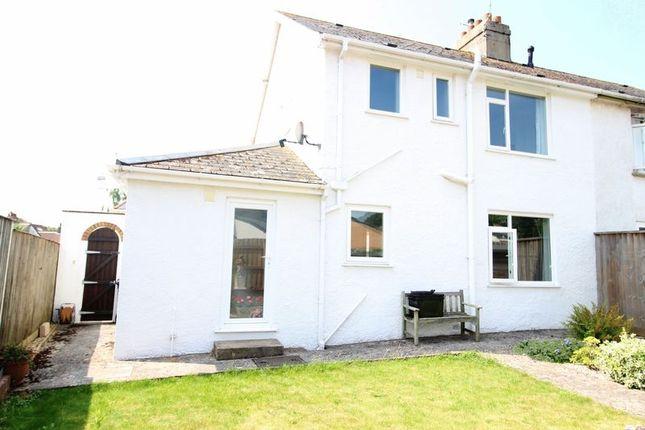 Thumbnail Semi-detached house for sale in Rowcroft Road, Paignton