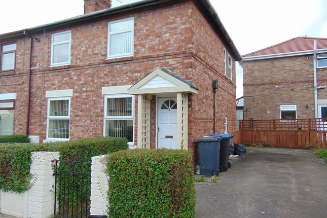 Thumbnail Semi-detached house to rent in Cookson Terrace, Chester Le Street